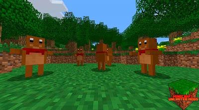 Teddy mod minecraft