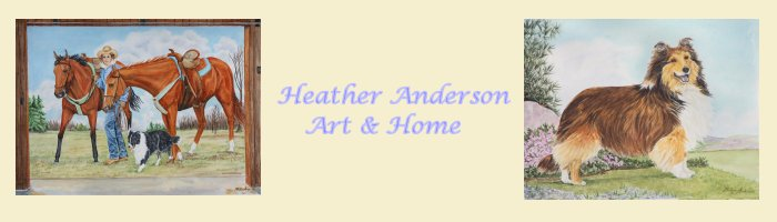 Heather Anderson Art and Home