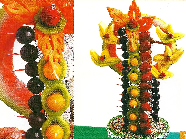 Buffet y decoraci n aprende a decorar con frutas for Secar frutas para decoracion