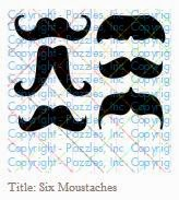 Six Moustaches