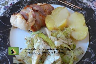Pommes de terre cuites au barbecue - Conservation pomme de terre cuite ...