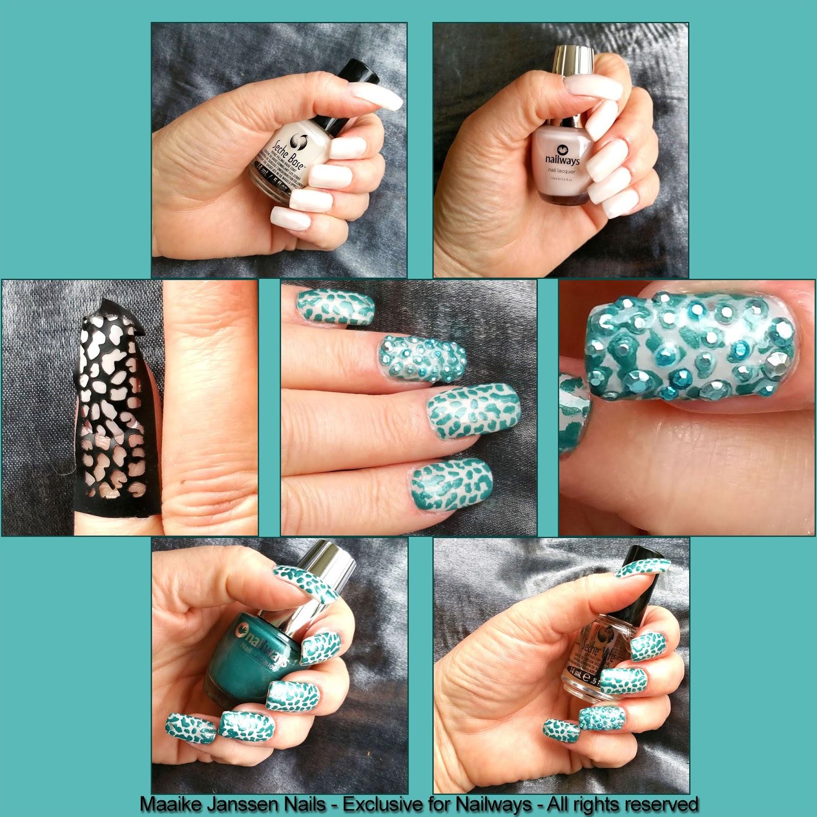 Nailways Green Spot Nail Art