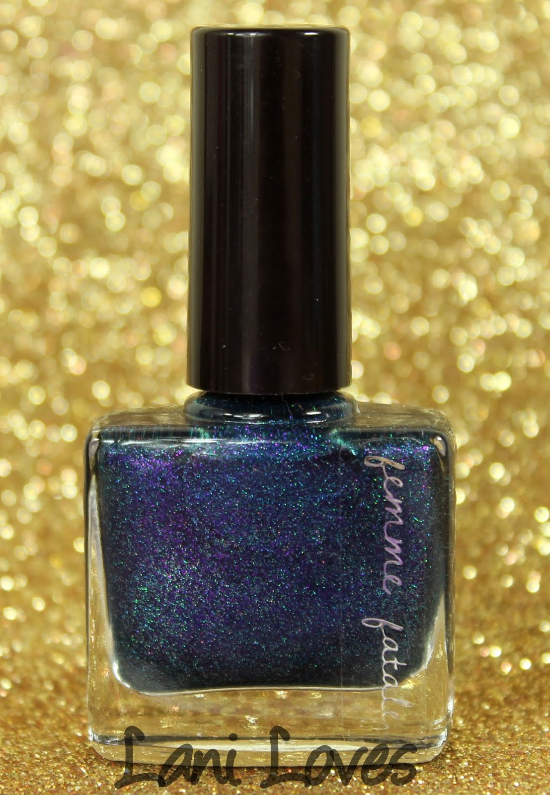 Femme Fatale Cosmetics Alone in the Darkness nail polish swatches & review