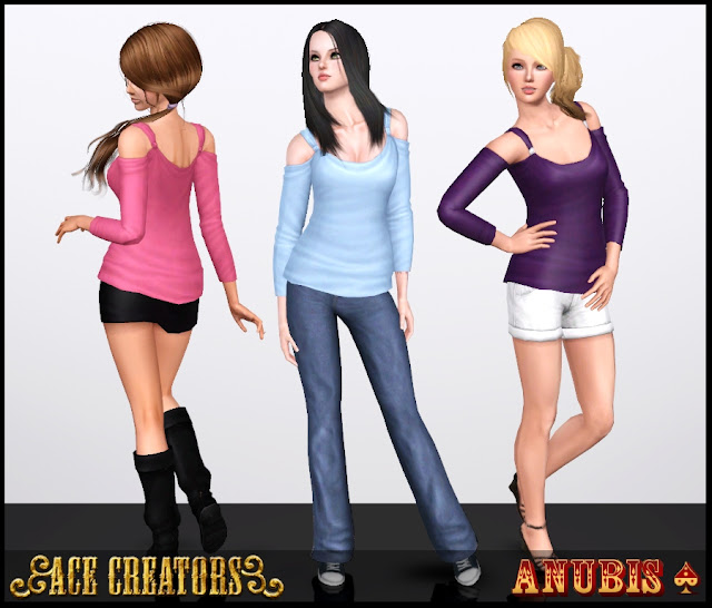 Showtime Casual Trend Top by Anubis TS3ShowtimeCasualTrend_Top_2