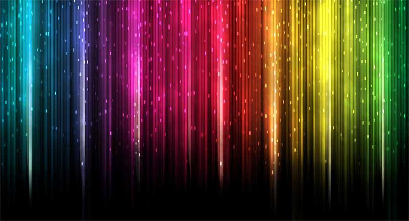 Un mundo de colores. La cromoterapia.
