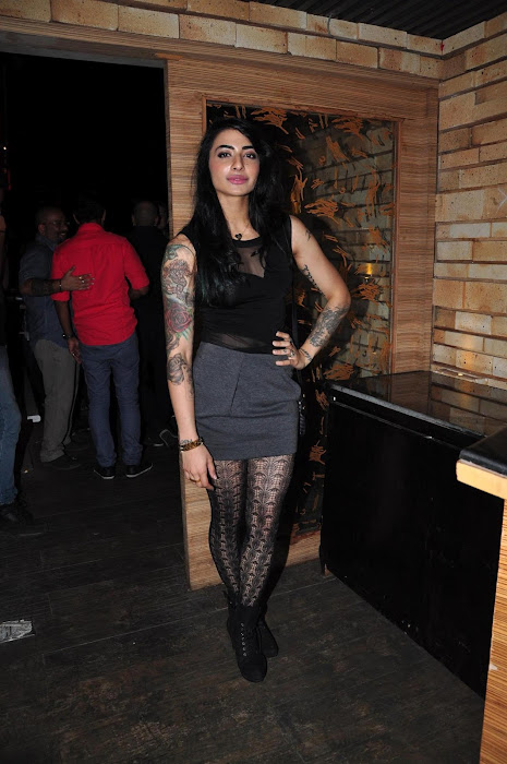 shruti han at the launch of mtv rush. hot photoshoot