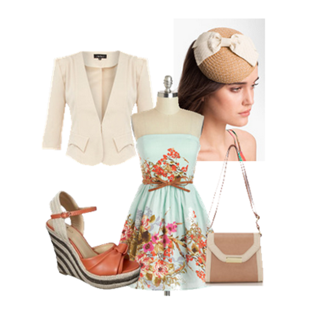 fascinators and spring dresses