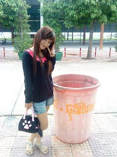 Bobo Mini Khmer cute school girl 7