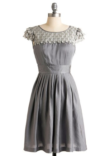Pearl Snow Petal Dress at Modcloth.com