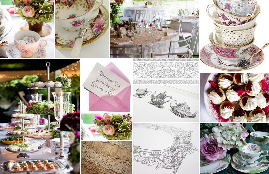 Images courtesy of Peggyu0027s Place u0026 Plate Hire Puccini Creations Entree Catering The Printerie The Pretty Blog Afternoon Tea Party The 50s Style ... & Peggyu0027s Place u0026 Plate Hire: Tea Madam?
