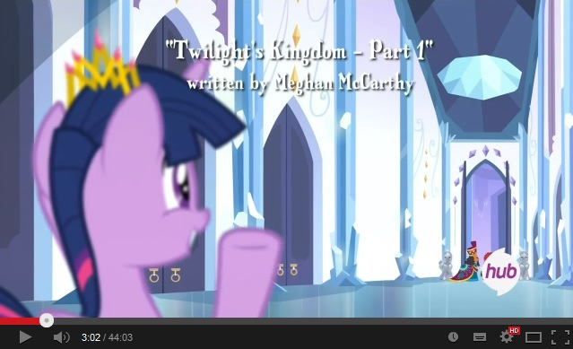 My Little Pony: Friendship is Magic - Twilight's Kingdom - Part 1