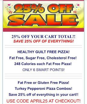 Pizza Free Sale!! 6 Smart Points & 6 Points Plus!!!