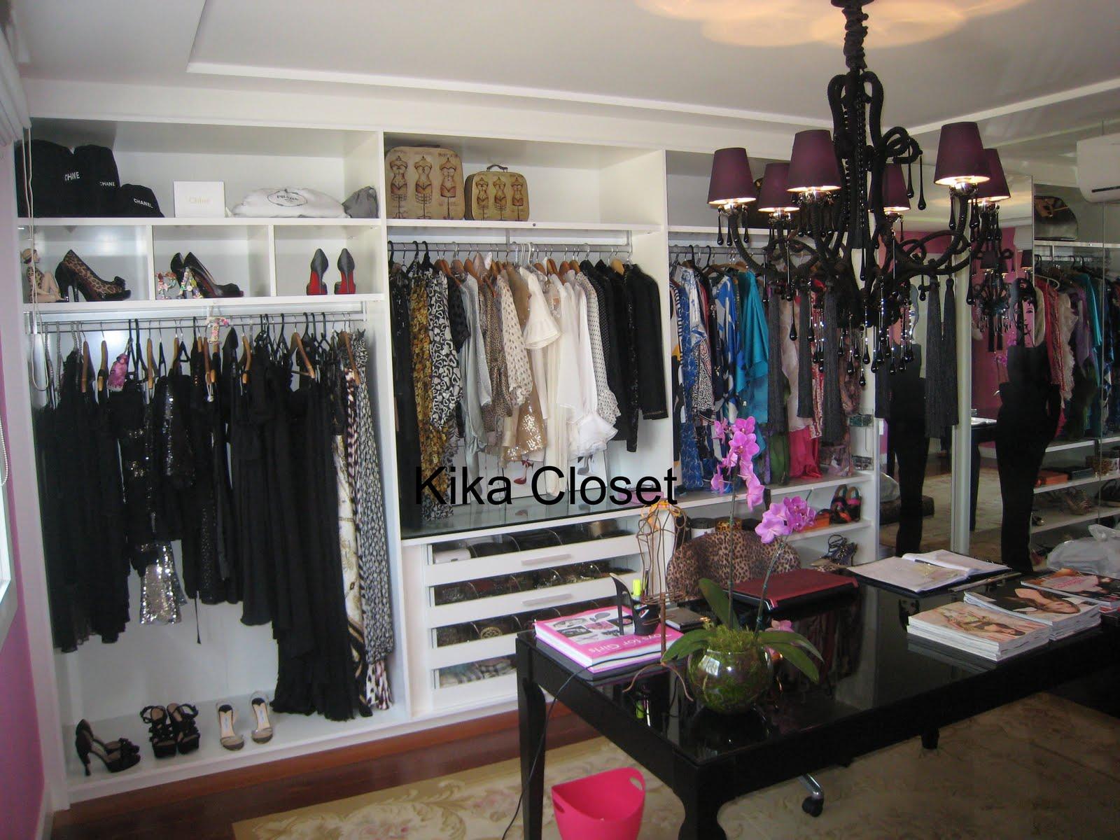 Armario De Banheiro Planejado ~ Kika Closet Armário Feminino e Closet
