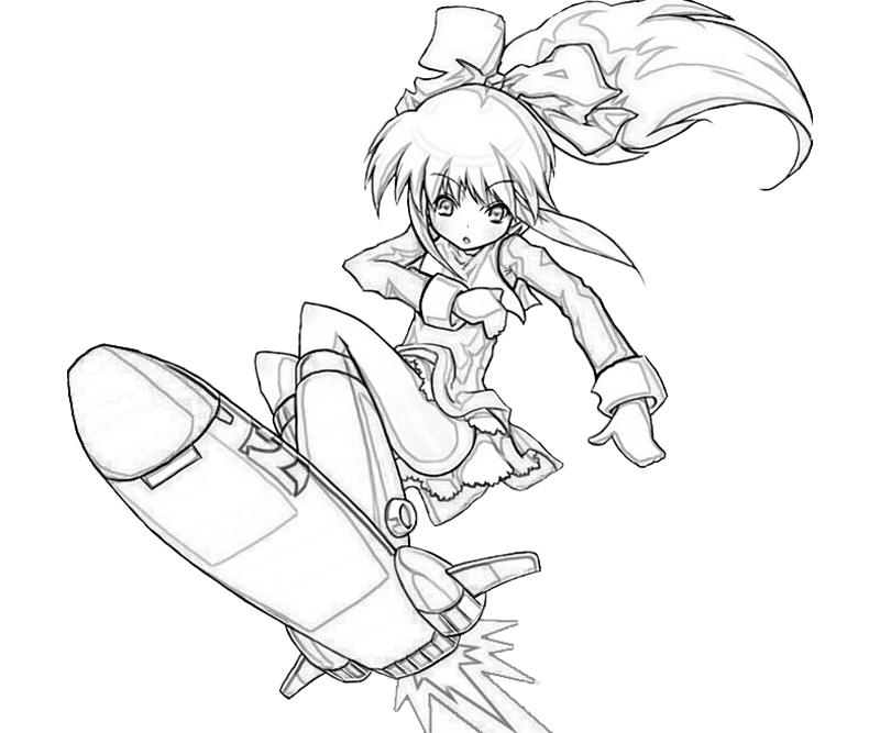 roll-jet-board-coloring-pages