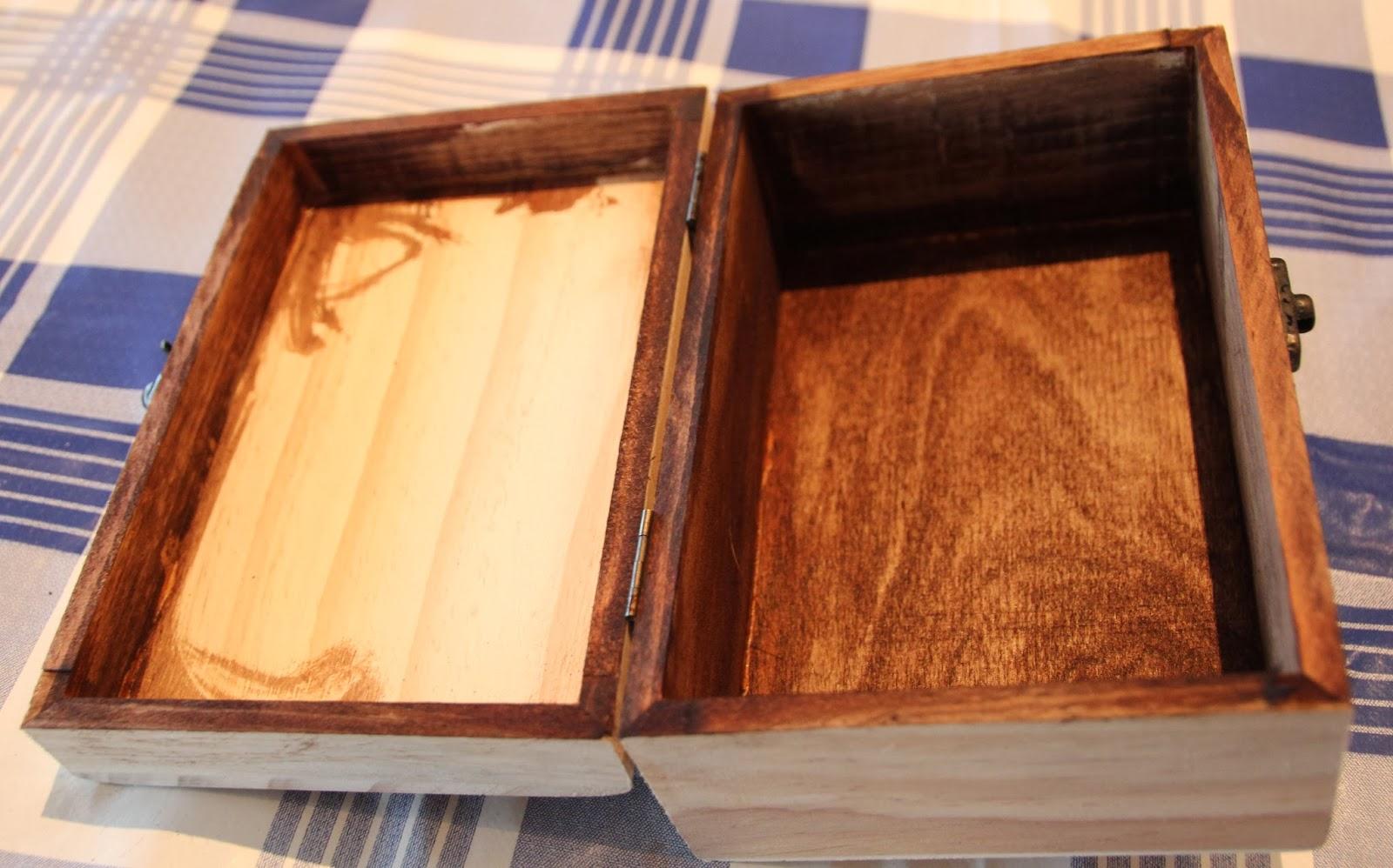 Diy caja madera