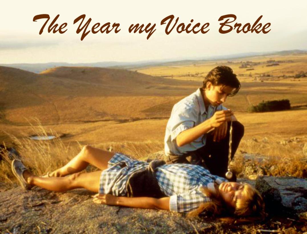 the year my voice broke Jag såg en så fin film i förrgår the year my voice broke, en australiensk.