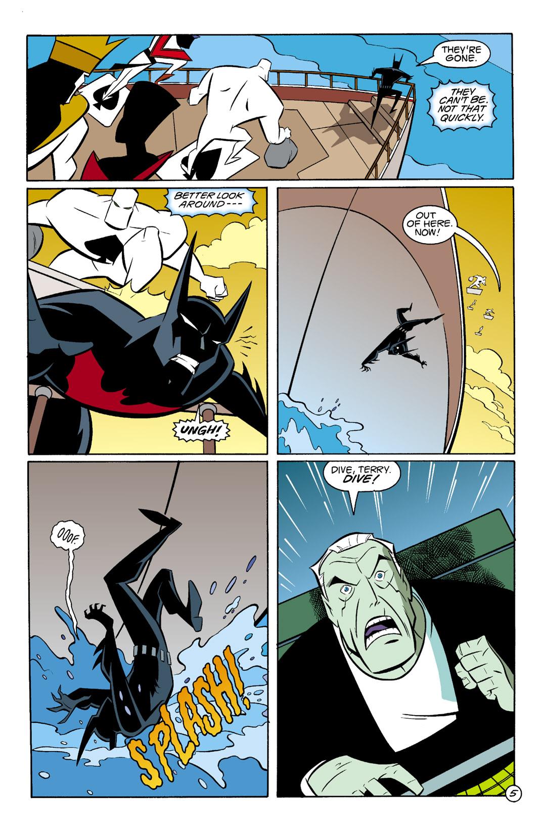 Batman Beyond [II] Issue #4 #4 - English 6