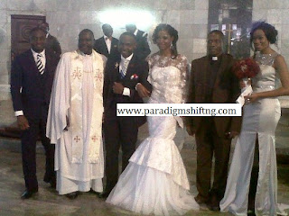 PHOTONEWS: Pictures from Teju Babyface's wedding