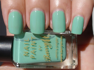 Barry M Mint green