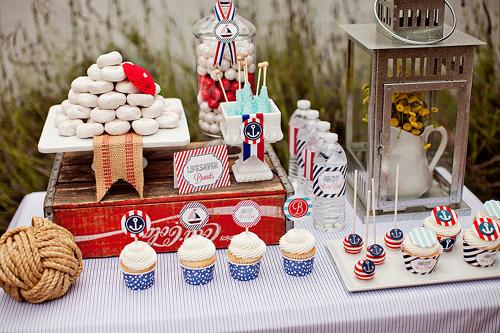 Momentips una fiesta na tica for Decoracion marinera ikea