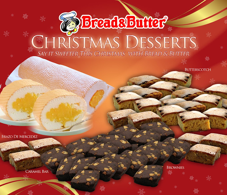 Bread & Butter's Christmas Desserts