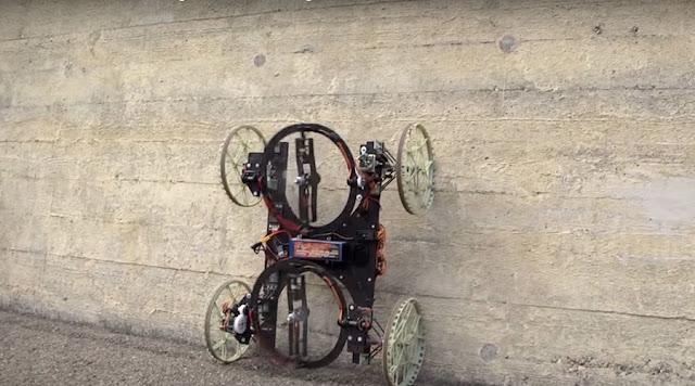 عجائب الدنيا وهل تعلم - فيرتيجو روبوت ديزني القادر على تسلق الجدار