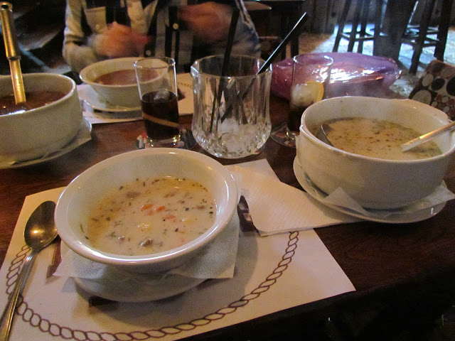 Veal and tarragon soup in Budapest