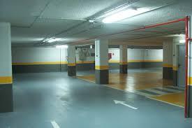 Pintado de suelos industriales y de garajes trabajos verticales sevilla - Pintura suelo parking ...