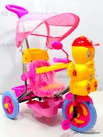 2 Sepeda Roda Tiga Hokiku 7833 Bebek