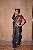 Actress Maneesha Photos in Saree-thumbnail-6