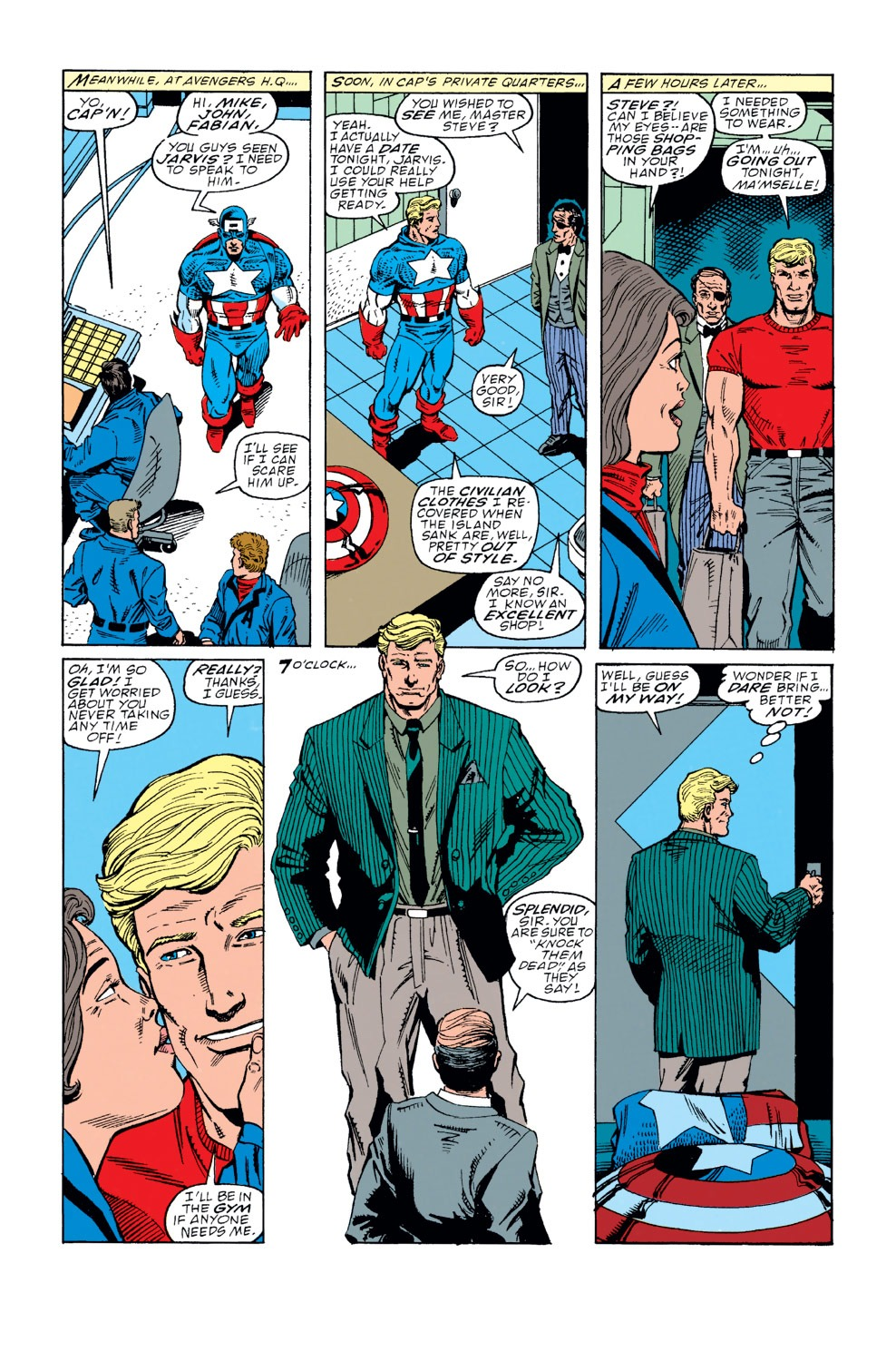 Captain America (1968) Issue #371 #304 - English 6