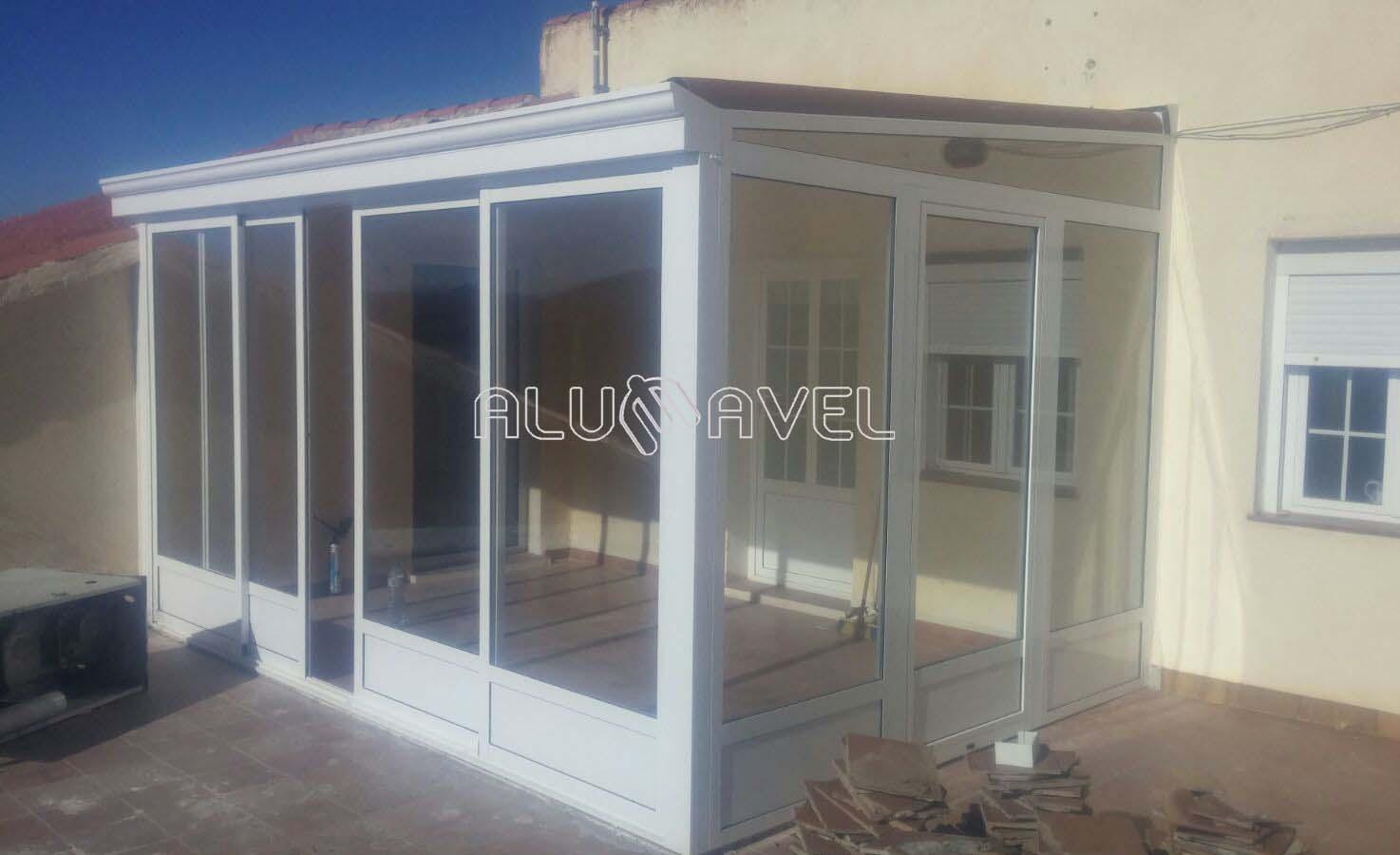 Cerramientos en almer a 950 411 333 alumavel - Cerramientos de aluminio para balcones ...
