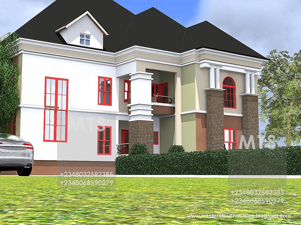 Mr edet 6 bedroom duplex modern and contemporary for 6 bedroom