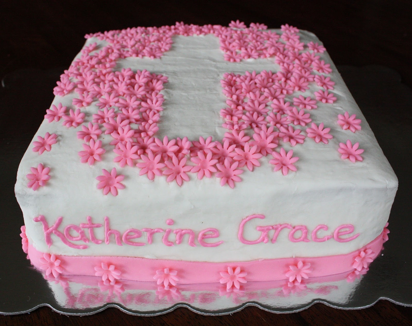 Straight To Cake Katie Graces Baptism Cake