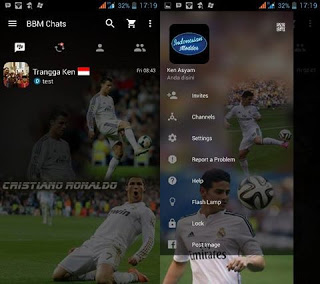 BBM Mod Real Madrid V2.12.0.9 Apk Clone Terbaru