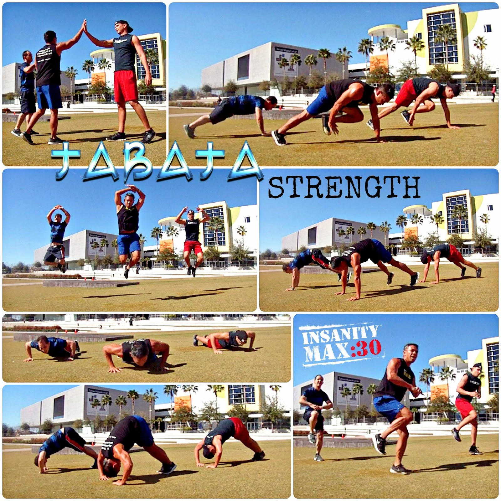 Insanity Max 30 Tabata Strength - Tabata Workout - Tabata Training - Curtis Hixon Park