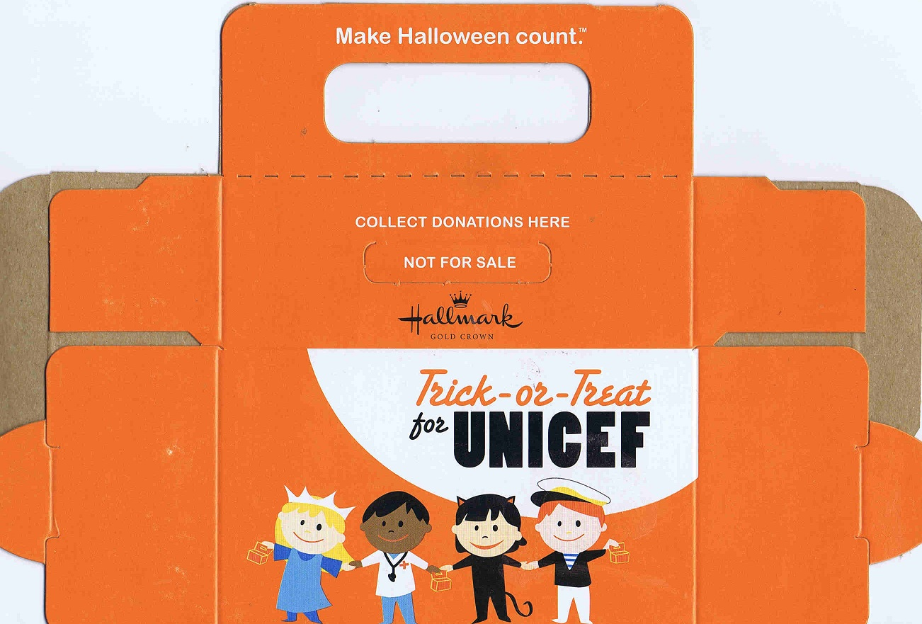 Trick Or Treat For Unicef Halloween 2012 | Rachael Edwards