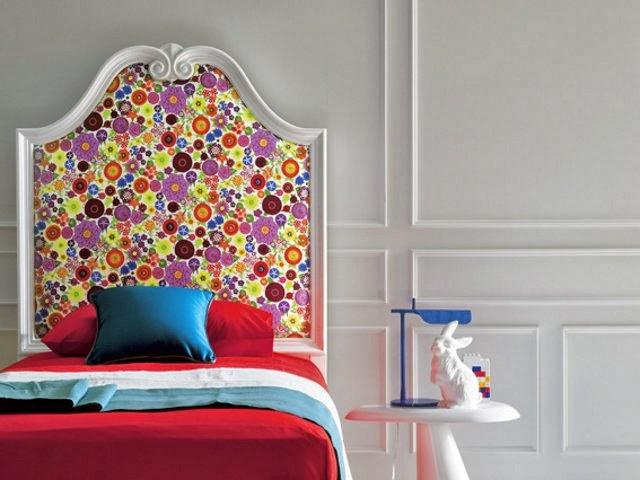 kreare avete mai pensato di decorare un letto per i