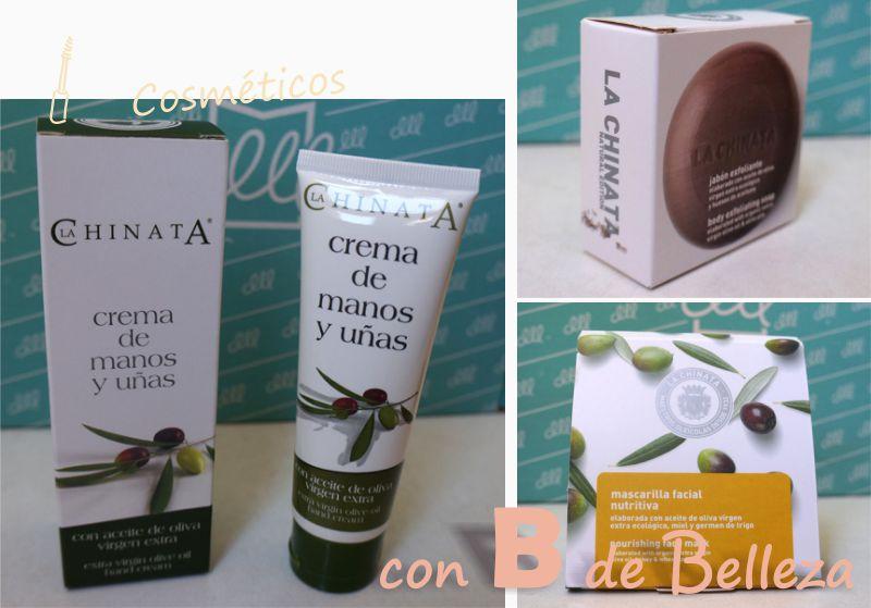 Cosméticos La Chinata con aceite de oliva