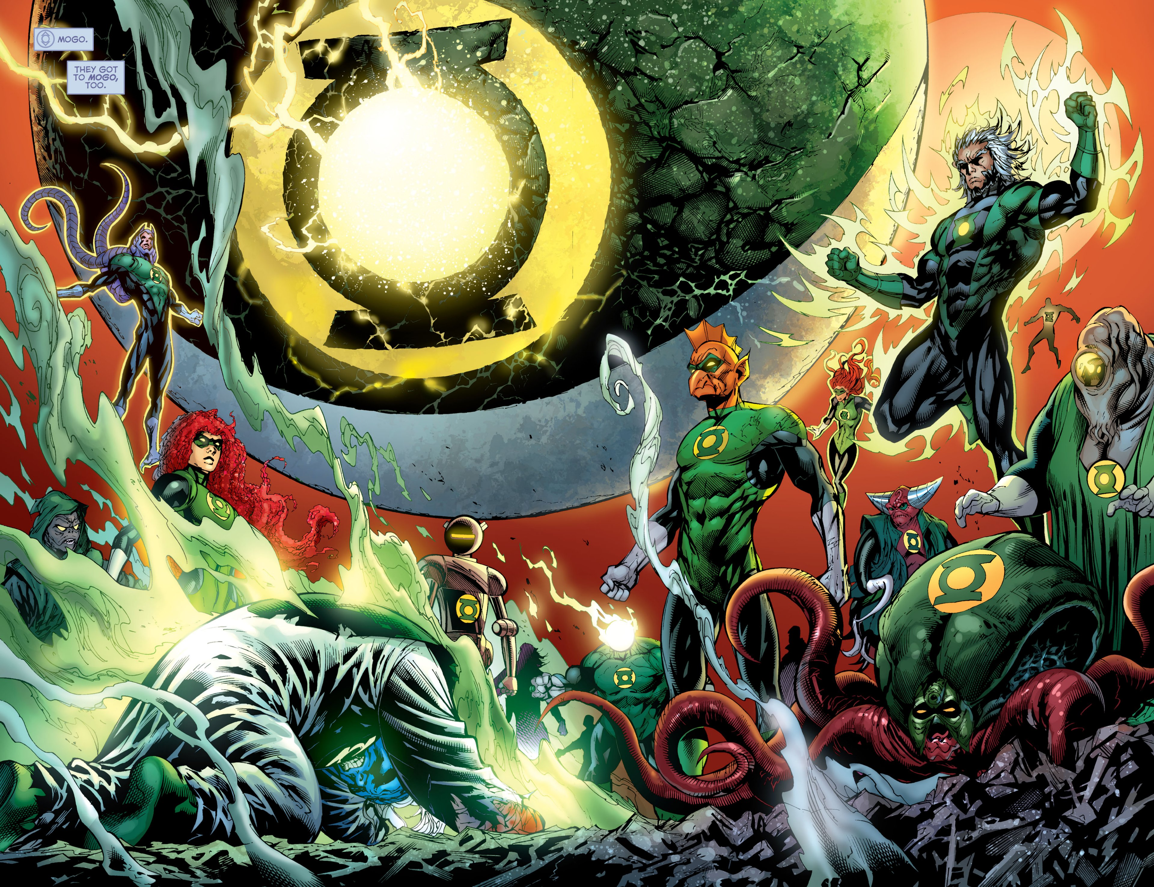 Read online Green Lantern Corps (2006) comic -  Issue #59 - 18