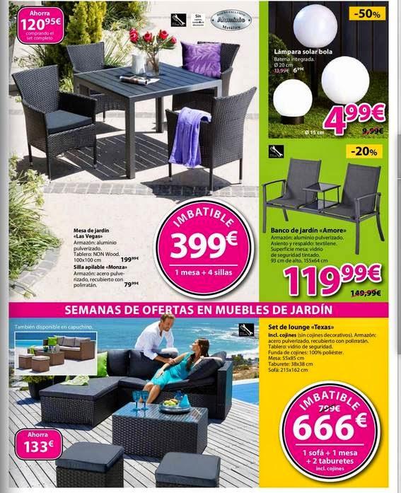 Ofertas de jysk camas muebles y hogar mayo 2015 for Ofertas muebles jardin