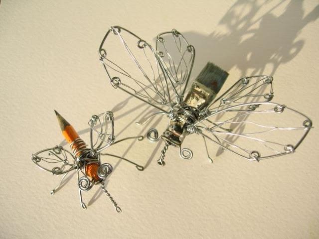 мухи из проволки