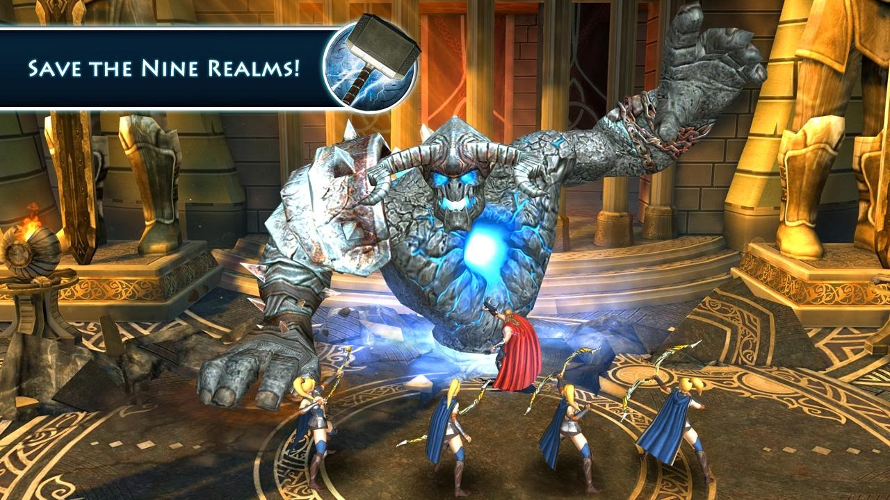 Thor 2 The Dark World The Official Game Full Apk + Data