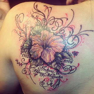flower name tattoos