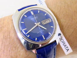 SEIKO BLUE DIAL SEMI SQUARE CASE - AUTOMATIC 7006 7120