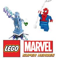 """Lego nos ofrece 3 sets arácnidos para el estreno de """"The Amazing Spider-Man 2: El poder de Electro"""""""
