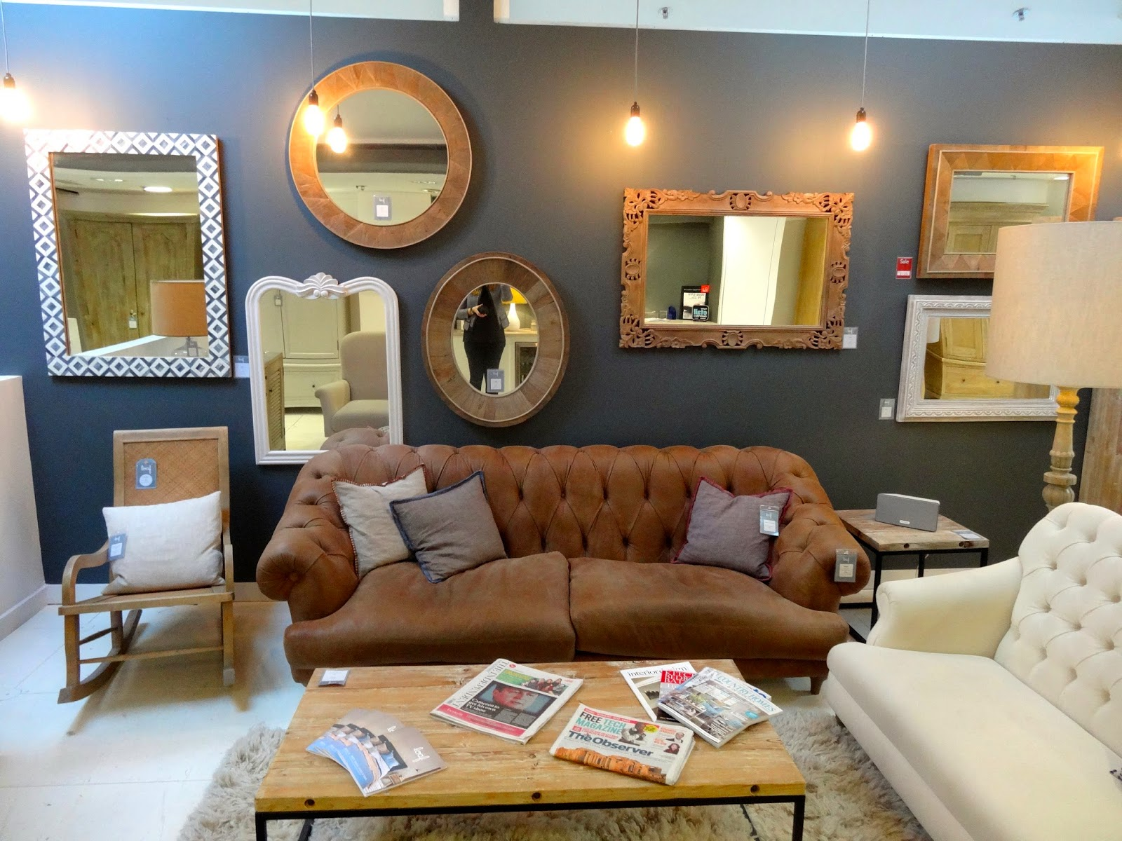 Sofa Shopping At Loaf Notting Hill Cagney And Lace