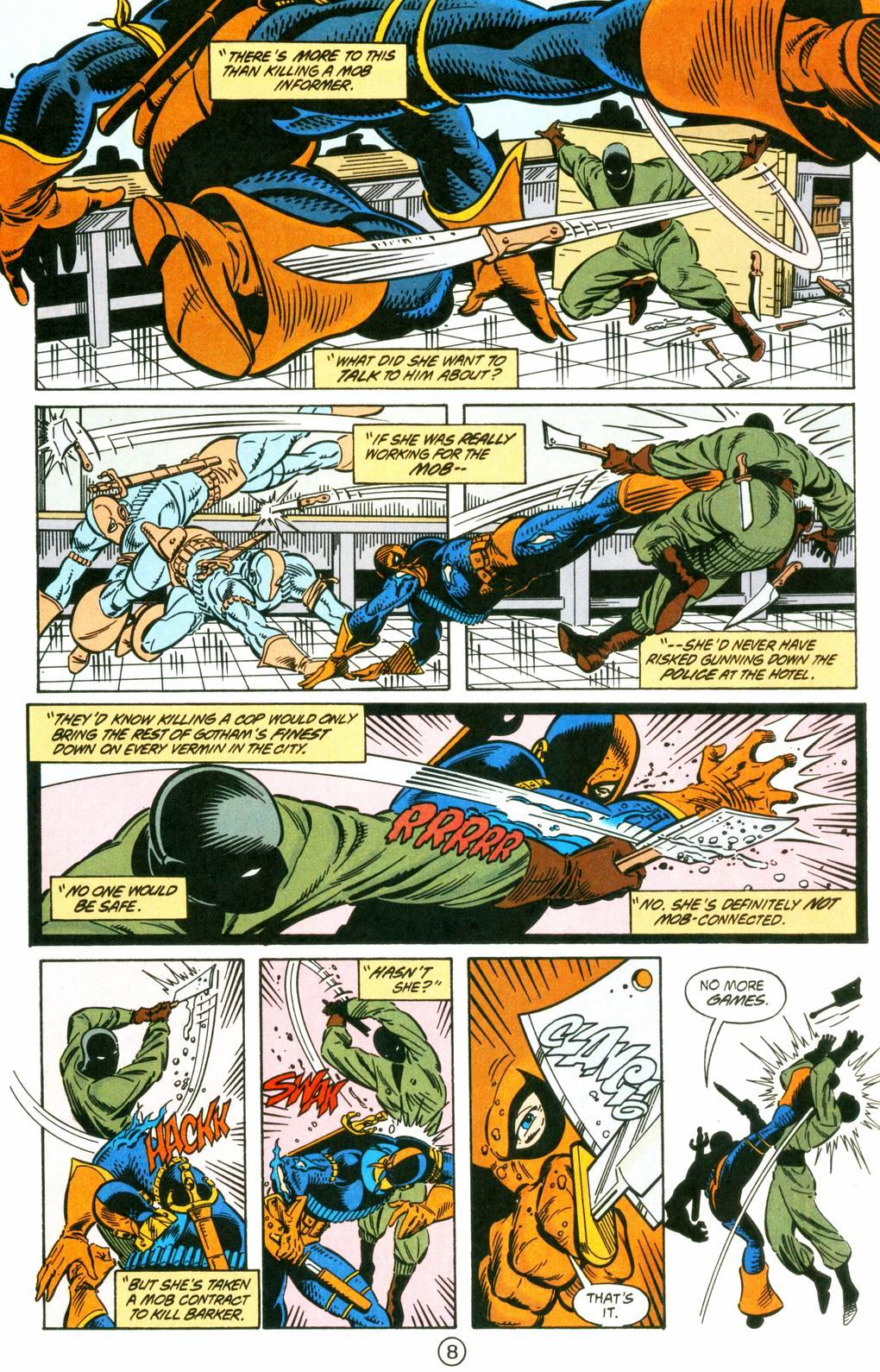 Deathstroke (1991) Issue #8 #13 - English 8