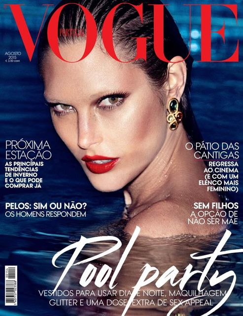 Supermodel @ Catherine McNeil by Alexei Lubomirski for Vogue Portugal, August 2015