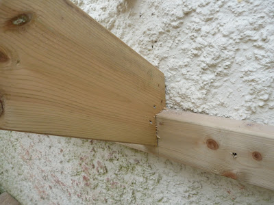 how to cut rafter bird mouth